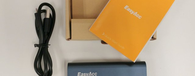 EasyAcc QC 3.0 Power Bank unboxing