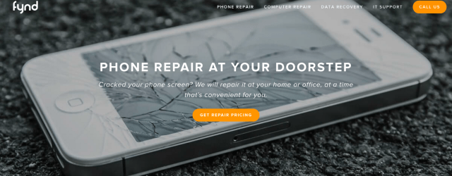 fynd - phone repair at your doorstep