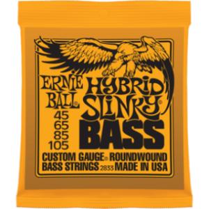 Струны для бас-гитары Ernie Ball Hybrid Slinky Bass 2833