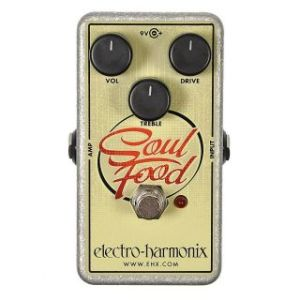 Педаль Electro-Harmonix Soul Food Distortion Fuzz Overdrive