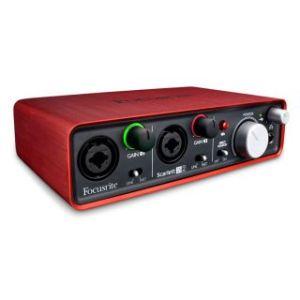 Аудио интерфейс Focusrite Scarlett 2i2