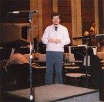 David Shallon während einer Probe in Israel