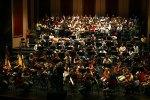 Orchesterprobe auf der Bühne der Deutschen Oper am Rhein Prokowjeff: