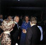 Tonhalleneröffnung 1978: Bundespräsident Walter Scheel  und seine Gattin Mildred Scheel