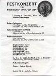 Konzertzettel vom 5.6.1984