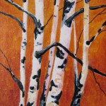 45313 Autumn Birch Acrylic 7x5