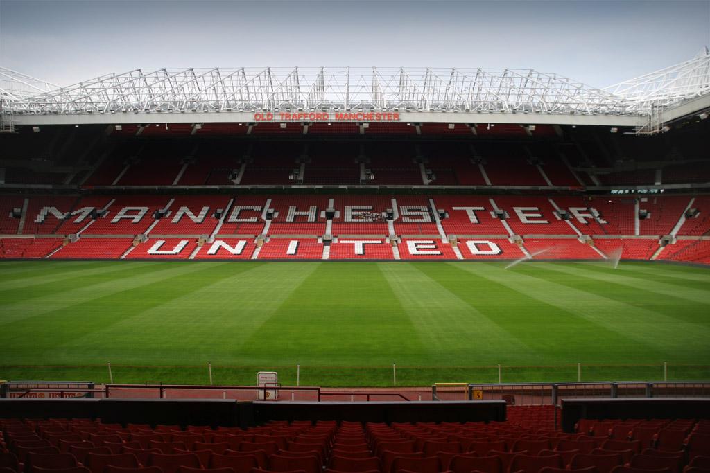Old Trafford Stadium, inside, nyhetsbörsen
