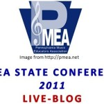 PMEA Music Conference Live-blog Schedule:
