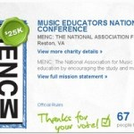 Win One For Music Ed. And $500,000 for MENC!