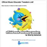 Official Twitter Listed Updated Today – May 27th, 2011