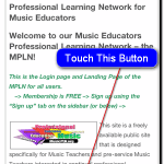The Music Educators Professional Learning Network Goes Mobile!