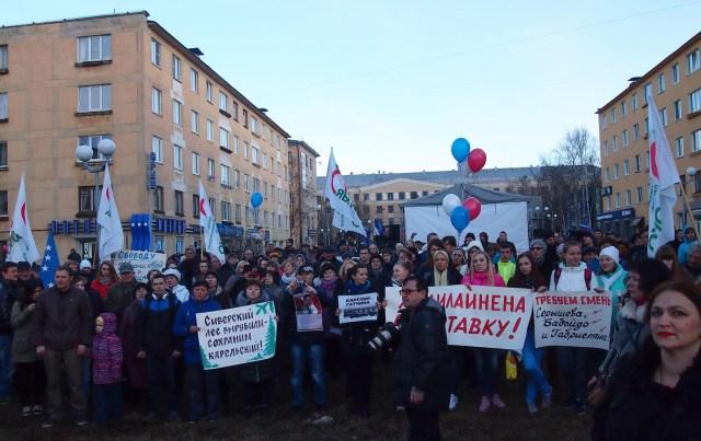 Для нынешнего руководства Карелии все, кто критикует власть - враги государства? Фото: Валерий Поташов