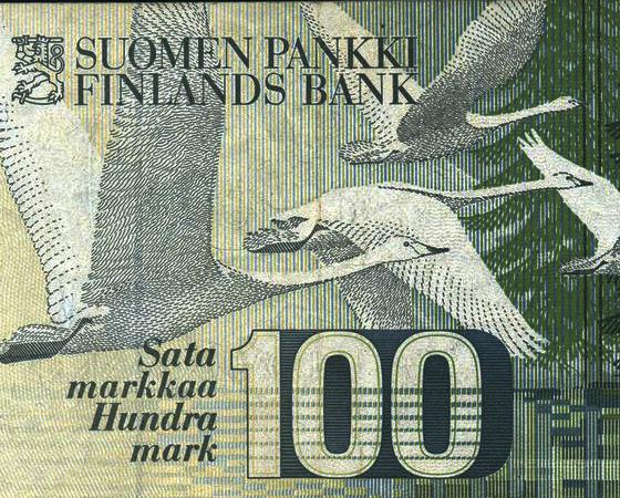 В Финляндию вернутся марки? Фото: mustoi.ru
