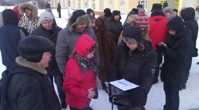 Митинг на Студенческом бульваре 9 января дал старт общественной кампании за отставку нынешнего депутатского корпуса Петросовета. Фото: Валерий Поташов