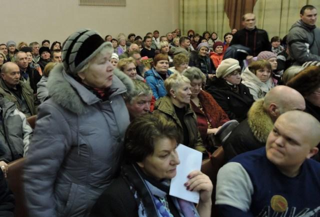 Народный сход в Олонце. Фото: Алексей Владимиров