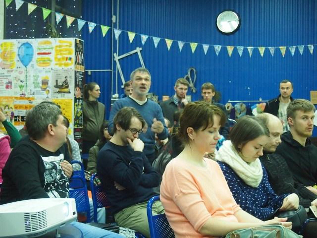 Во время дискуссии. Фото: Валерий Поташов