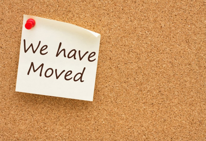 Large Of We Have Moved