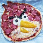 "Zum Geburtstag: ""Angry Birds""-Pizza"