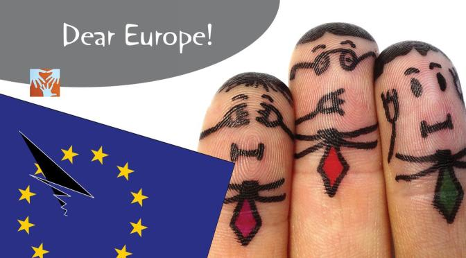 Dear Europe! #refugeeswelcome #bloggerfuerfluechtlinge