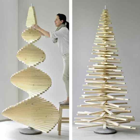 diy weihnachtsbaum aus holzlatten muttis n hk stchen. Black Bedroom Furniture Sets. Home Design Ideas