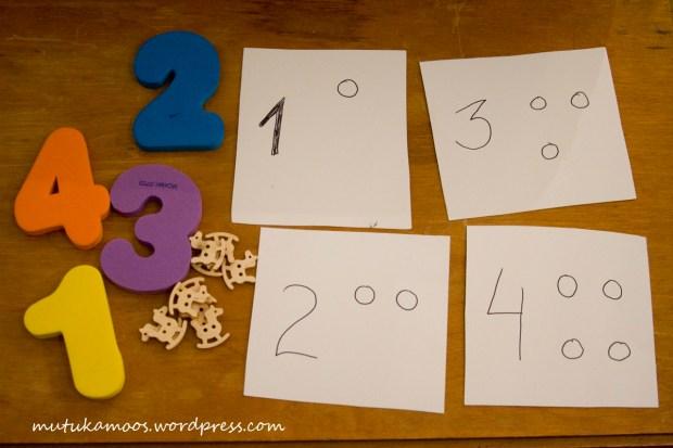 numbrite õppimine 2