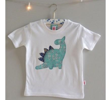 camiseta dinosaurio niño