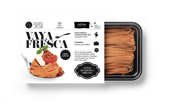 A la rica pasta y al bonito packaging.