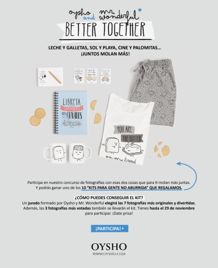 oysho_mr_wonderful_coleccion_pijamas_life_is_too_short_to_wear_boring_clothes_concurso
