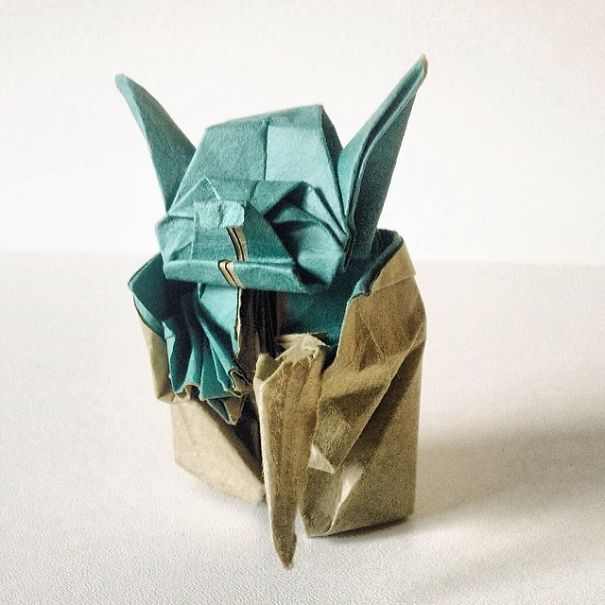 Un proyecto de 365 días de origami, o como tener más paciencia que un santo
