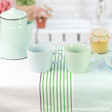 21100109 Set de 2 tazas en tonos pastel - Azul y mint-4