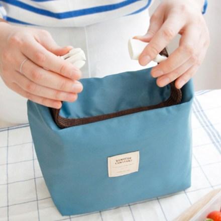 Bolsa porta alimentos azul de iconic - Mr.Wonderful
