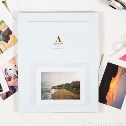 Mr.Wonderful Álbum de fotos A moment azul