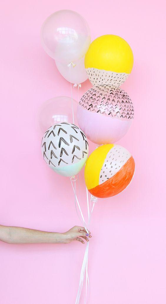 ¡Que no falten los globos! Ideas geniales para que tus fotos y fiestas, lo peten