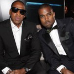 A little tension rises between Jay-Z and Kanye West