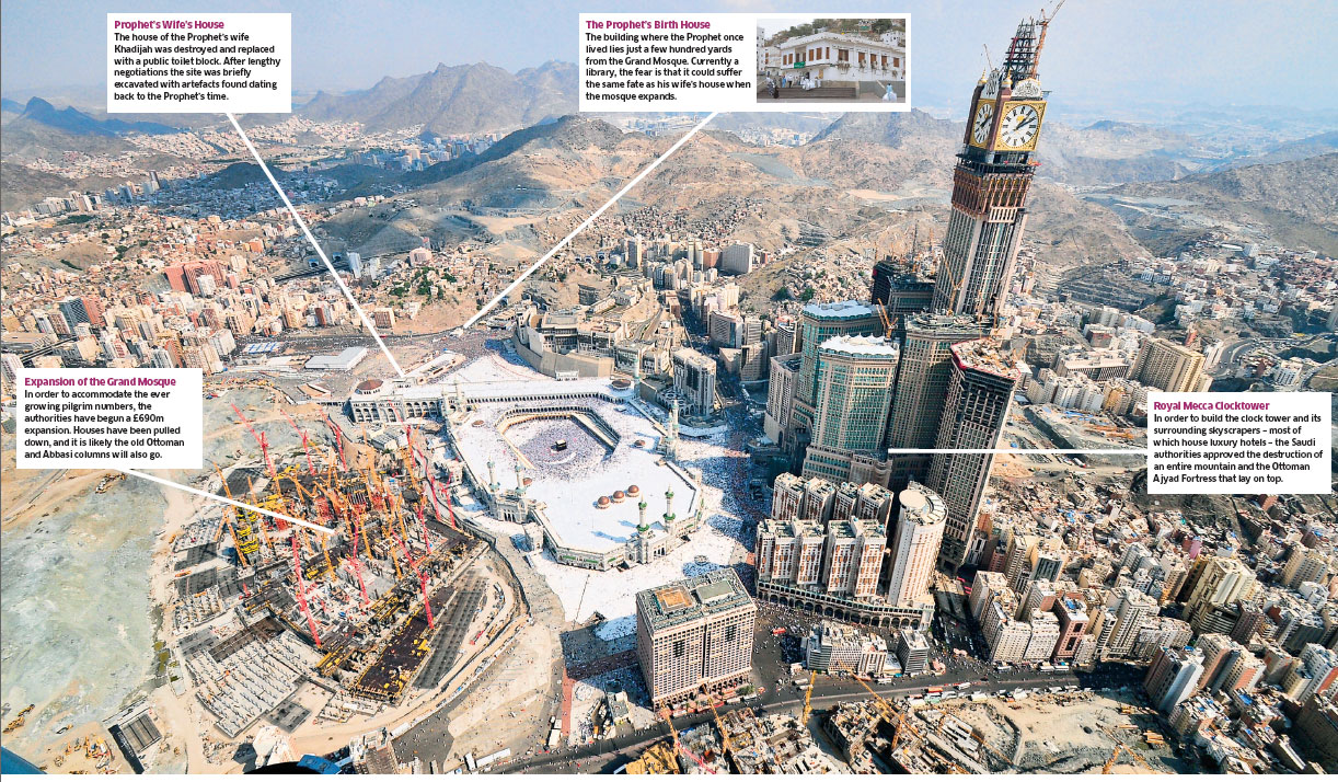 Mecca for the rich: Islam's holiest site 'turning into Vegas'