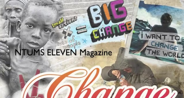 "NTUMS' November Publication: ELEVEN's ""Change"""