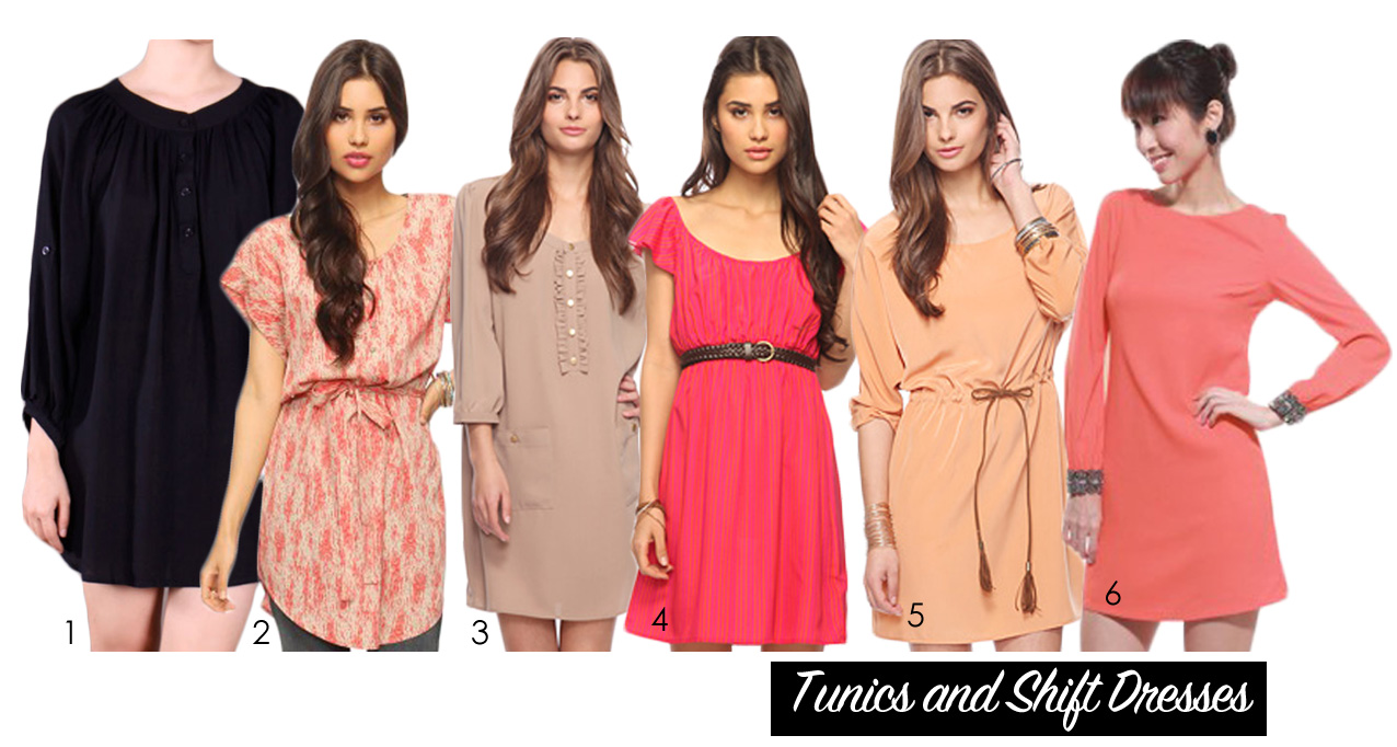Muslimah Fashion Guide – Tunics & Shift Dress