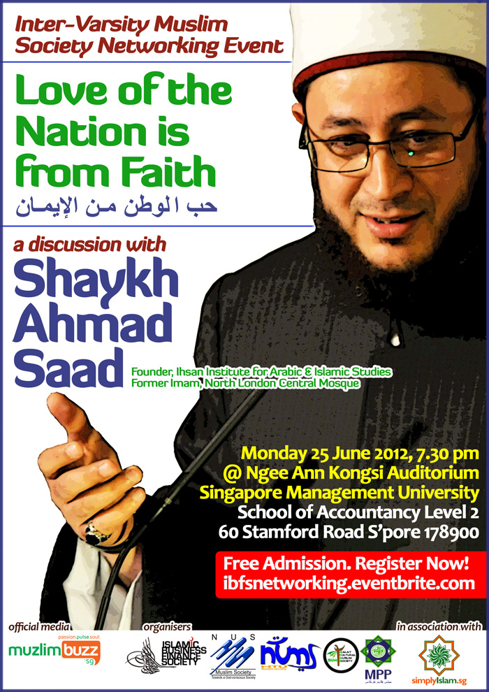Event Review: Love of the Nation is from Faith with Shaykh Ahmad Saad