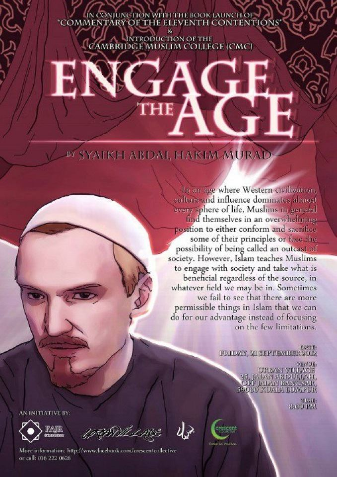 "Event Review: ""Engage the Age"" with Shaykh Abdal Hakim Murad"