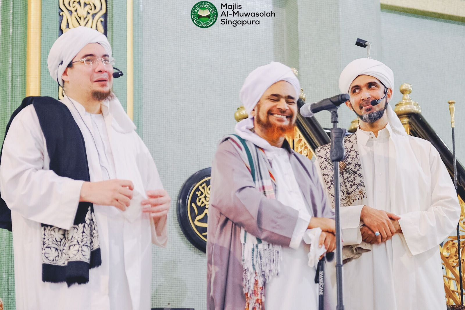 Habib Umar's riveting talk at Sultan Mosque: Night of Mahabbah November 2016