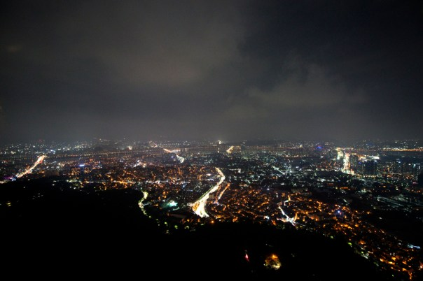 Seoul from Namsan Tower