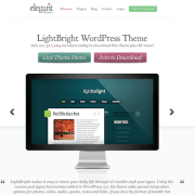 Elegant Themes: LightBright WordPress Theme