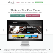 Elegant Themes: The Source WordPress Theme