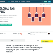 WPMU DEV: Tag Feed WordPress Plugin