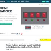 WPMU DEV: Global Theme Switcher WordPress Plugin