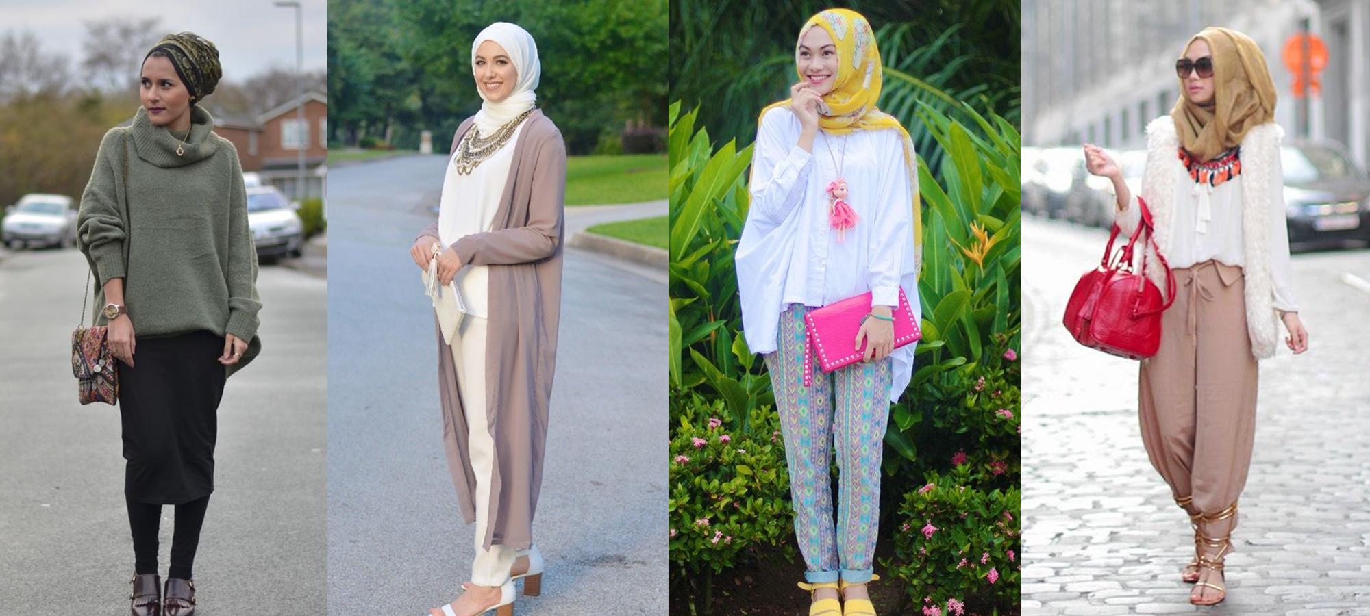 Black muslims meet white muslim dresses