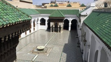 the-al-qarawiyyin-university-library-and-mosque-were-founded-by-fatima-el-fihriya-in-859-around-the-time-early-forms-of-algebra-were-being-invented