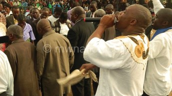 Clergy prays for sinful Malawi