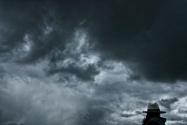 es wird Regen geben