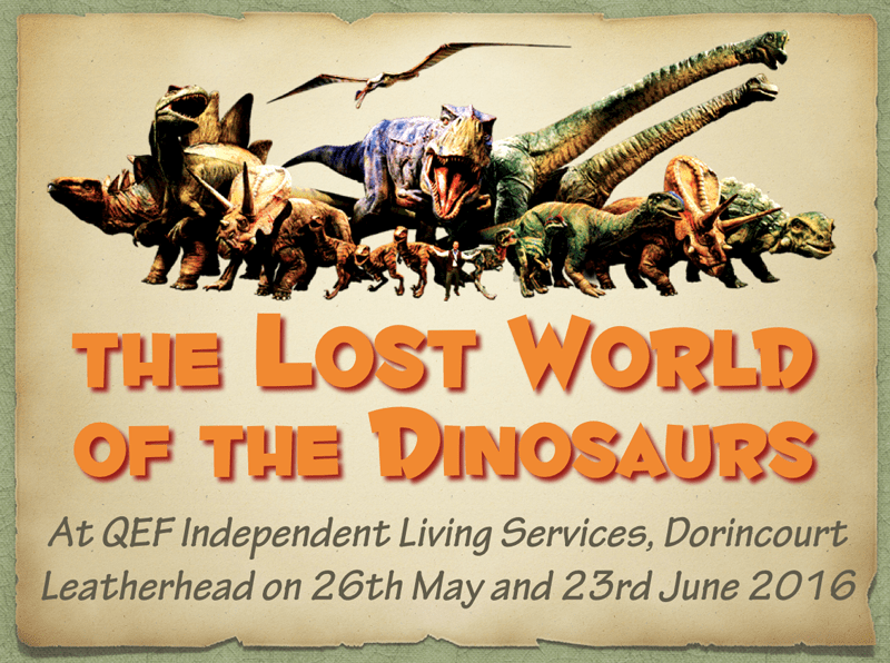 QEF 2016: Lost World of the Dinosaurs